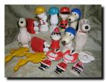 Large lot of vintage Avon Snoopy and the gang...