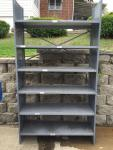 "Metal shelving 4' wide x 87"" tall x 18&q..."