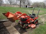 Kubota BX2200 Diesel Tractor With Front End L...