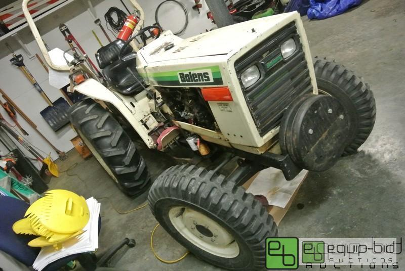 Bolens Tractor 4x4 : Bolens g wd compact tractor new items added