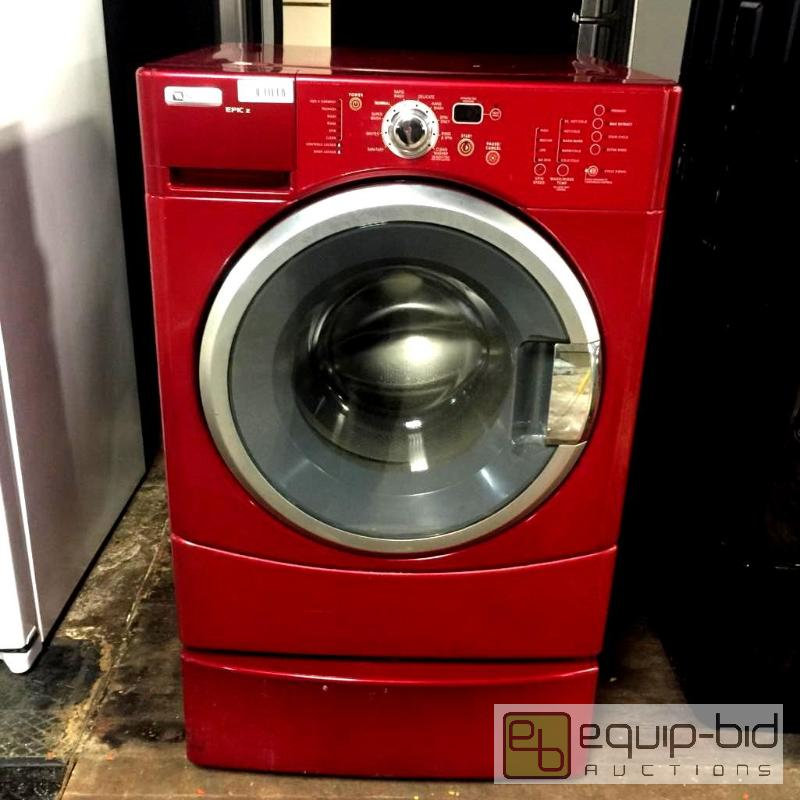 Red Maytag Epic Z High Efficiency Front Load Washer South Kc Residential Liance Auction Equip Bid