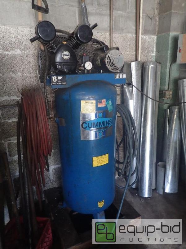 Cummins Industrial Tools Air Compressor W Hose Kansas