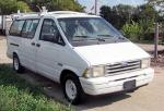 1997 Ford WORK Van Runs Good Equipped For Work with WeatherGuard Rack on Top, Shelves, Etc.