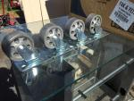 New very nice 3 inch all steel casters for th...