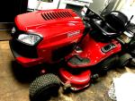 "CRAFTSMAN 42""  19 HP RIDING MOWER"