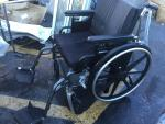 Very nice wheelchair with custom cushions in ...