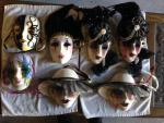 Vintage Mask Collection - Some Vintage + Mardi Gras
