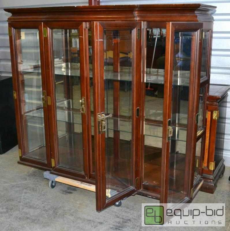 cabinet lights china cabinet leftovers kc auction 9 equip bid 12951
