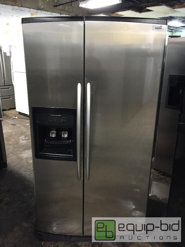 Kitchenaid Superba 25.5 cu ft Side By Side Stainless ...