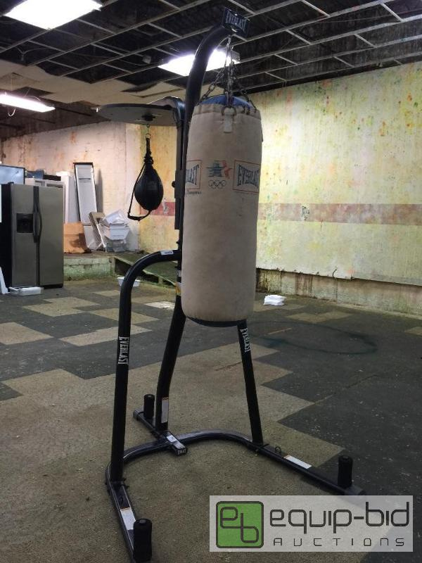 Everlast Dual Station Heavy Bag Stand Dtc Black South