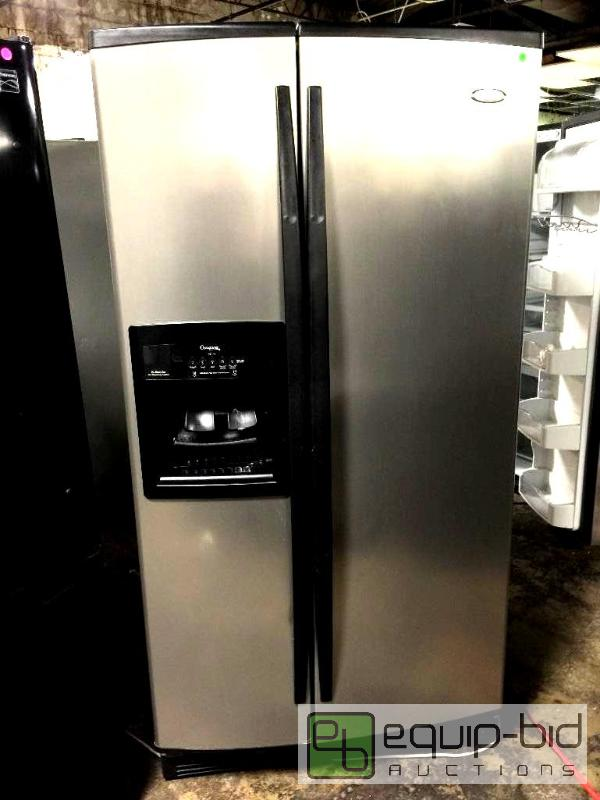Whirlpool Gold 25 6 Cu Ft Side By Side Refrigerator