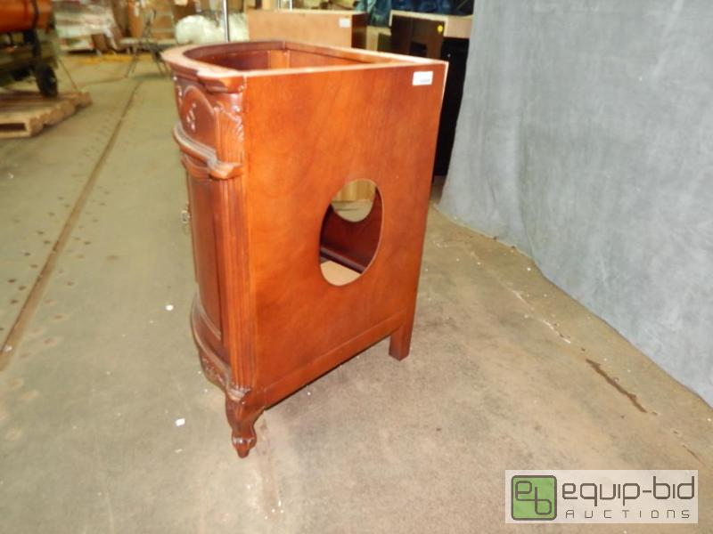 pictures of bathroom cabinets corner cabinet vanity truckload savings auction equip bid 24664
