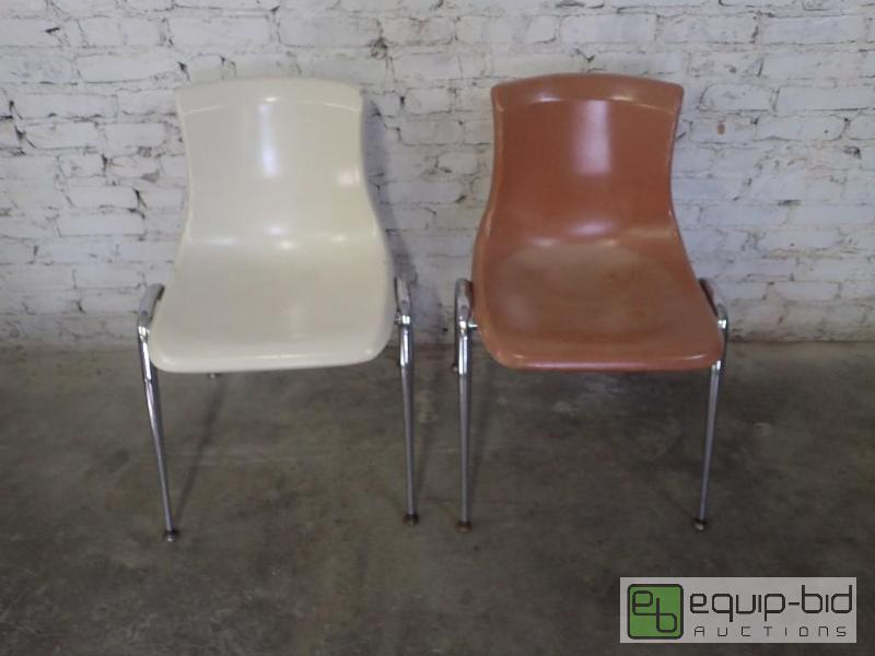 2) Brunswick Plastic Bucket Chairs | Designer Seating and Table ...