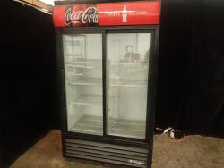 True Sliding Glass Door Merchandising Cooler