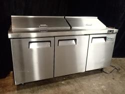 Supera 73 Sandwich/Salad Prep Table (SSPT3R-1)