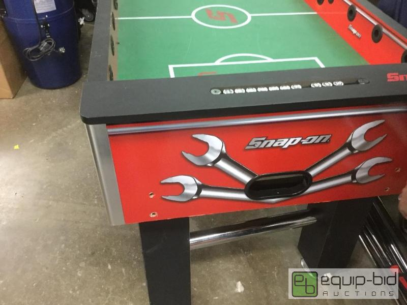 Snap-On Foosball Table Quantity: 1 Condition