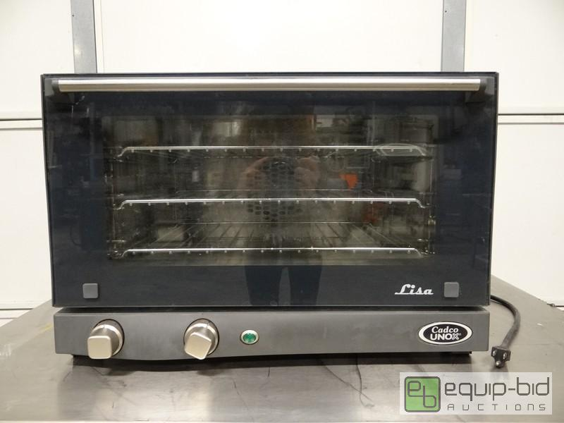 Cadco Unox Half Size Counter Top Convection Oven Spring Time New And ...
