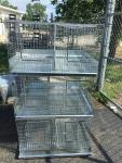 Custom made three stack animal cages great ch...
