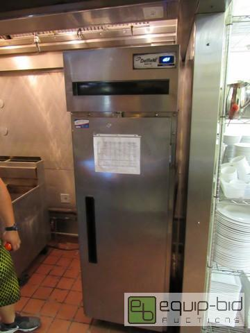 Delfield Reach In Single Door Freezer On Casters 6 Month