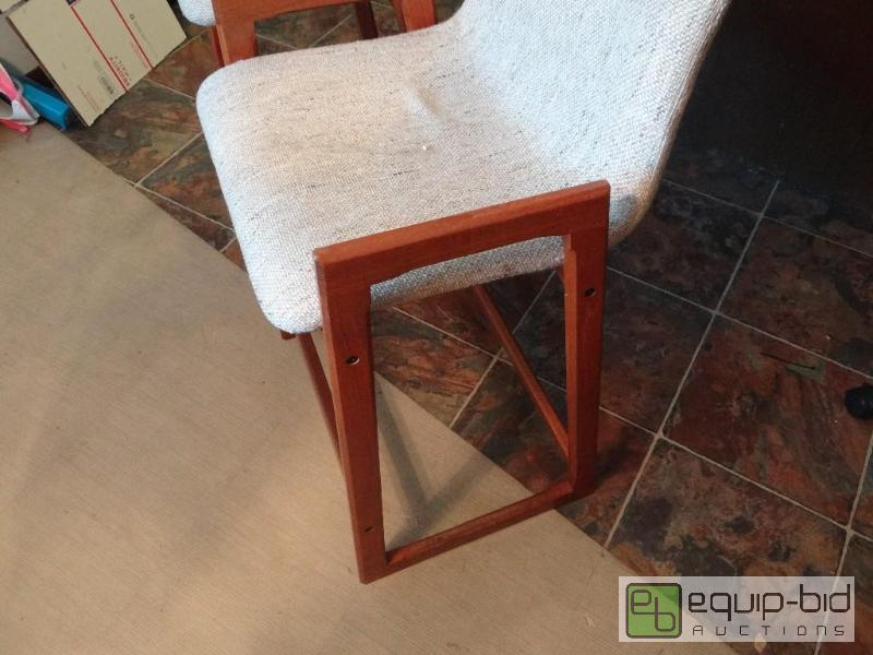 Teak Wood Bar Stools Large Wichita High End
