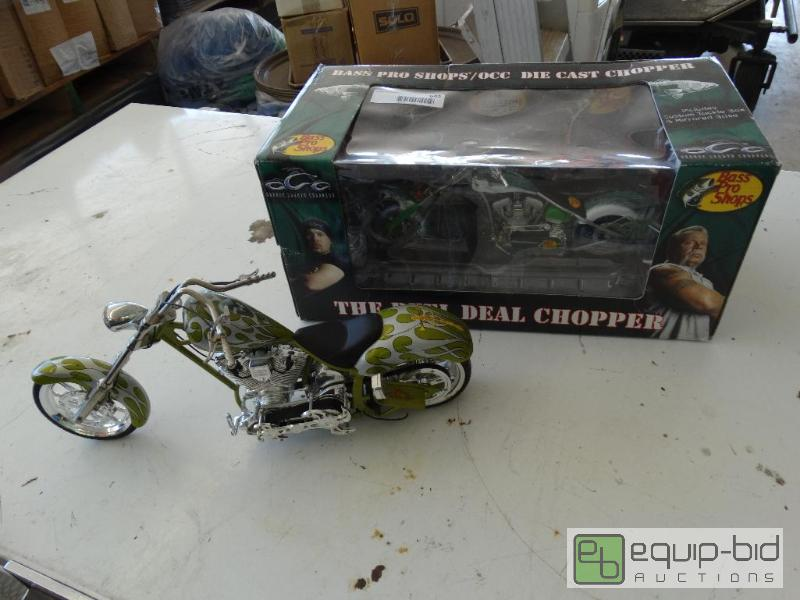 Bass Pro Shop Orange County Choppers 1 New North Wichita Furniture Liquidation Auction