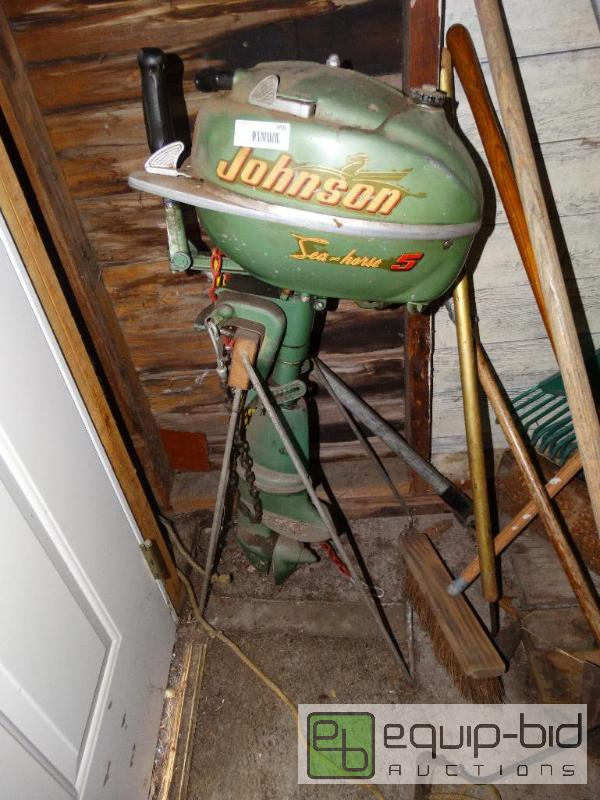 5hp johnson sea horse boat motor w stand rush for 4 horse boat motor
